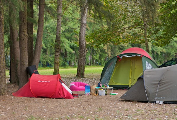 Camping site : fresh air and big spaces